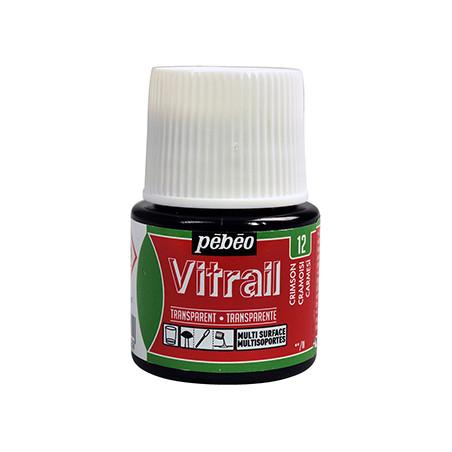PEBEO VITRAIL SOLVANT 45ML CRAMOISI