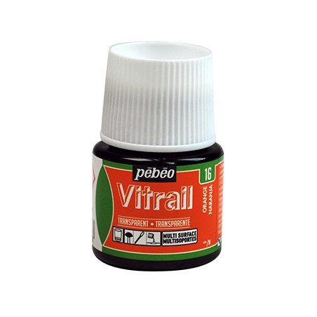 PEBEO VITRAIL SOLVANT 45ML ORANGE