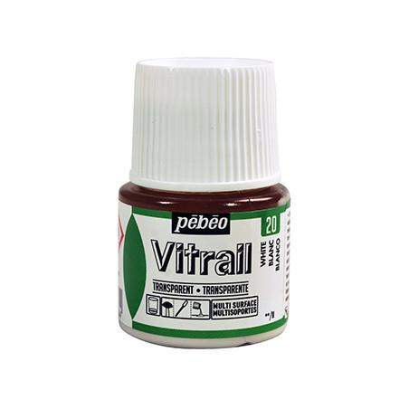 PEBEO VITRAIL SOLVANT 45ML BLANC