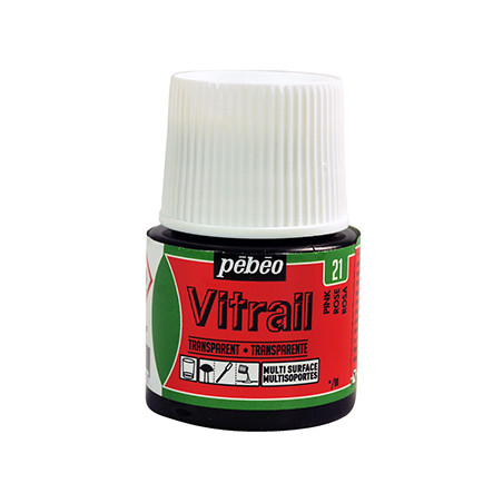 PEBEO VITRAIL SOLVANT 45ML ROSE
