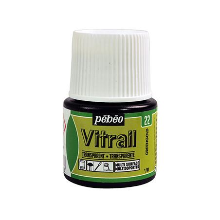PEBEO VITRAIL SOLVANT 45ML GREENGOLD