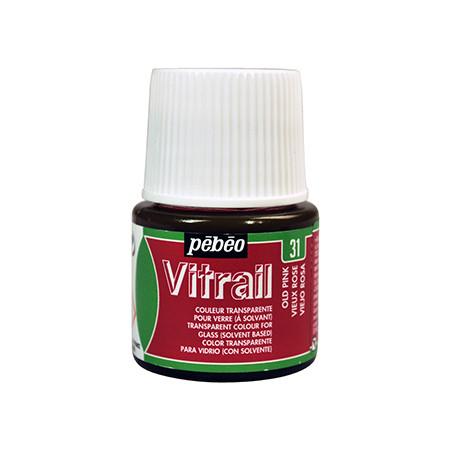 PEBEO VITRAIL SOLVANT 45ML VIEUX ROSE