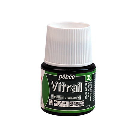 PEBEO VITRAIL SOLVANT 45ML VERT FONCE