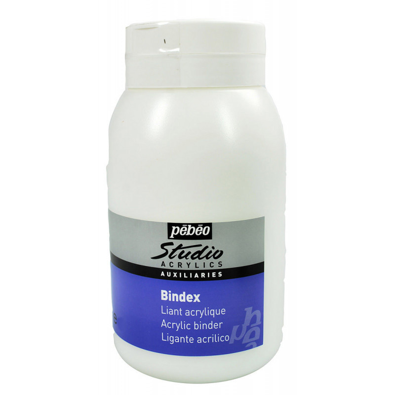 Liant acrylique brillant Bindex — Pébéo Studio — 500 ml