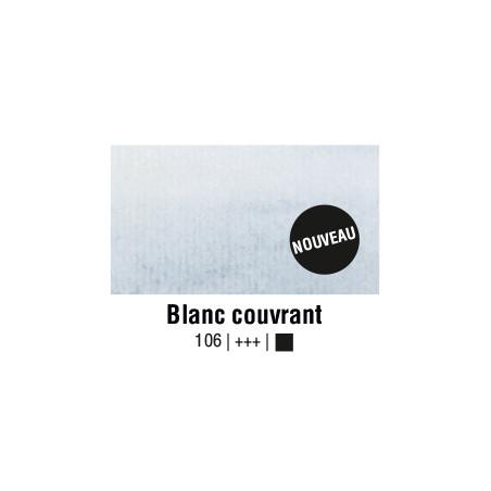 AQUARELLE VAN GOGH 1/2 GODET BLANC COUVRANT S1