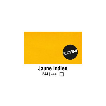 AQUARELLE VAN GOGH 1/2 GODET JAUNE INDIEN S1