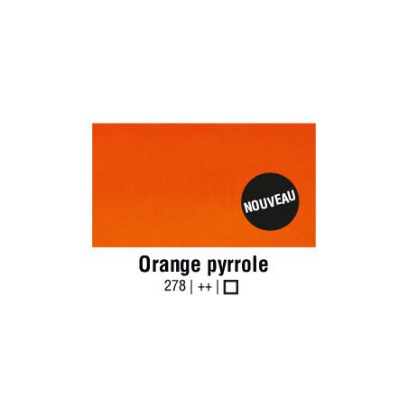 AQUARELLE VAN GOGH 1/2 GODET ORANGE PYRROLE S1