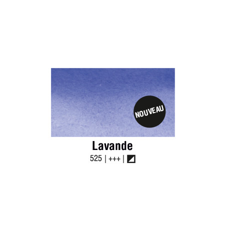AQUARELLE VAN GOGH 1/2 GODET LAVANDE S1