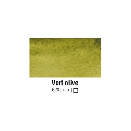 VAN GOGH AQUARELLE VERT OLIVE 1/2 GODET