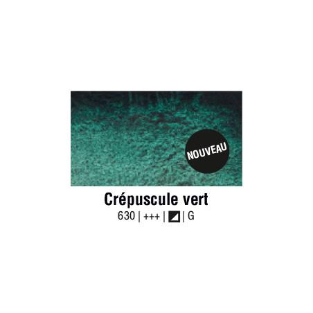 AQUARELLE VAN GOGH 1/2 GODET CREPUSCULE VERT S1