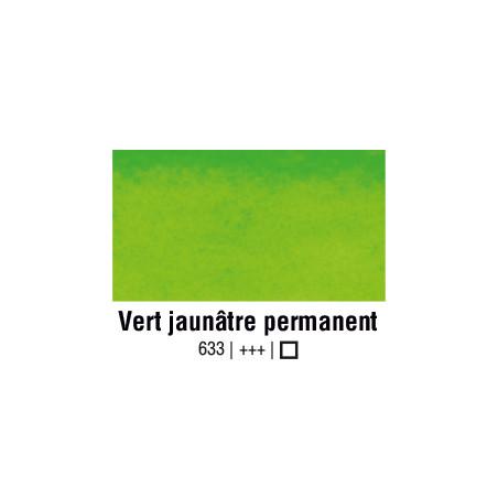 VAN GOGH AQUARELLE VERT JAUNATRE PERMANENT 1/2 GODET