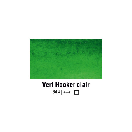 VAN GOGH AQUARELLE VERT HOOKER CLAIR 1/2 GODET