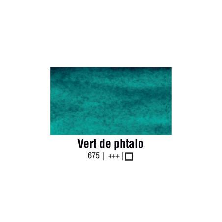 VAN GOGH AQUARELLE VERT PHTALO 1/2 GODET