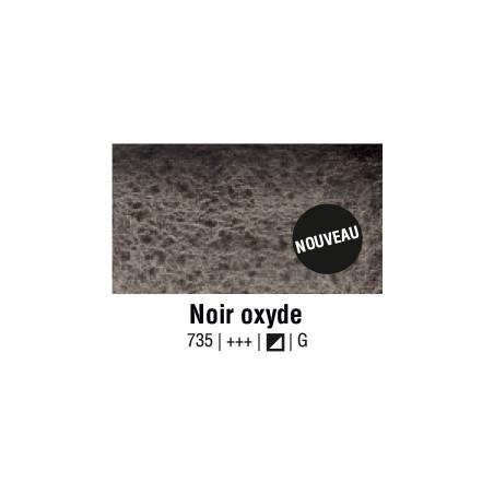 AQUARELLE VAN GOGH 1/2 GODET NOIR OXYDE S1