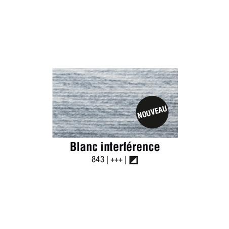 AQUARELLE VAN GOGH 1/2 GODET BLANC INTERFERENCE S2