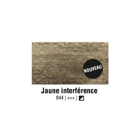 AQUARELLE VAN GOGH 1/2 GODET JAUNE INTERFERENCE S2