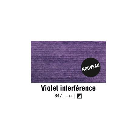 AQUARELLE VAN GOGH 1/2 GODET VIOLET INTERFERENCE S2