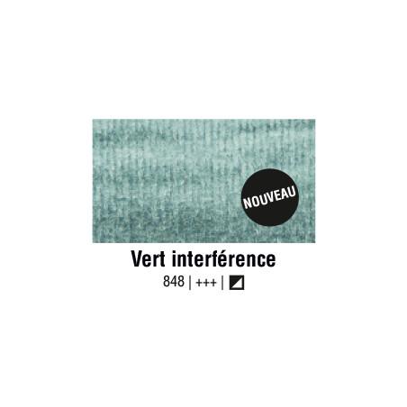 AQUARELLE VAN GOGH 1/2 GODET VERT INTERFERENCE S2
