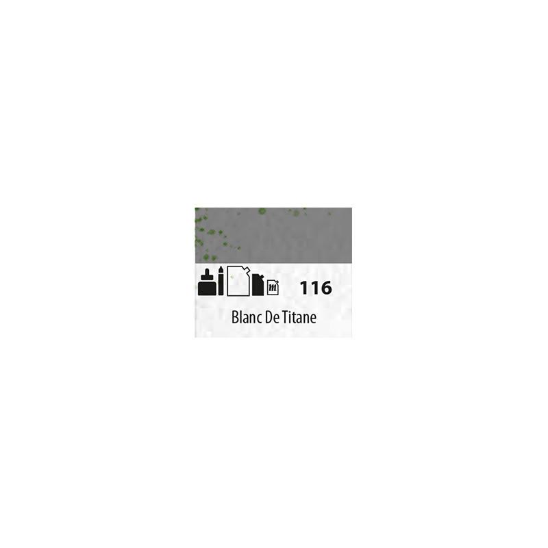 SENN ABSTRACT MAT 60ML BLANC DE TITANE 116