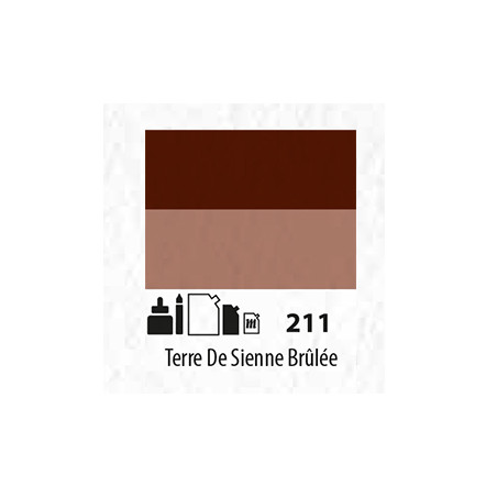 SENN ABSTRACT MAT 60ML TERRE DE SIENNE BRÛLEE 211