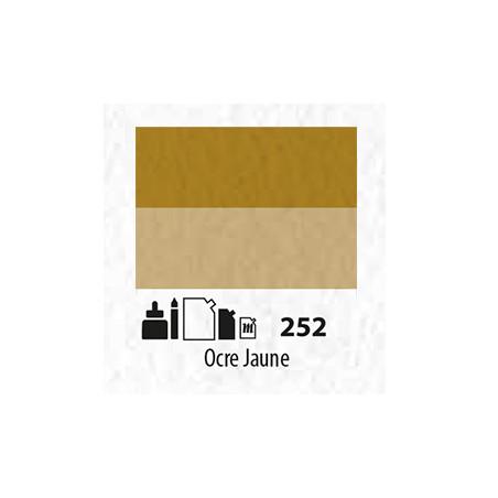 SENN ABSTRACT MAT 60ML OCRE JAUNE 252