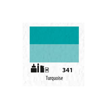 SENN ABSTRACT MAT 60ML TURQUOISE 341
