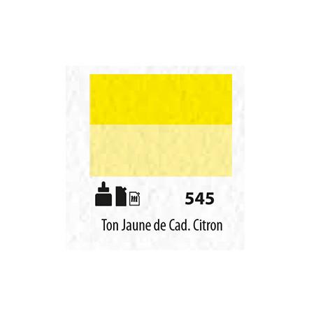 SENN ABSTRACT MAT 60ML TON JAUNE DE CADMIUM CITRON 545