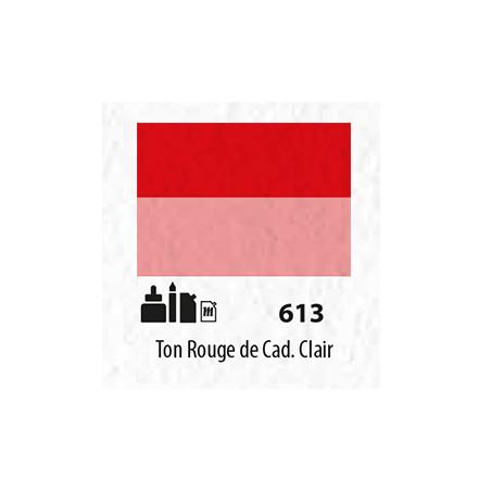 SENN ABSTRACT MAT 60ML  TON ROUGE DE CADMIUM CLAIR 613