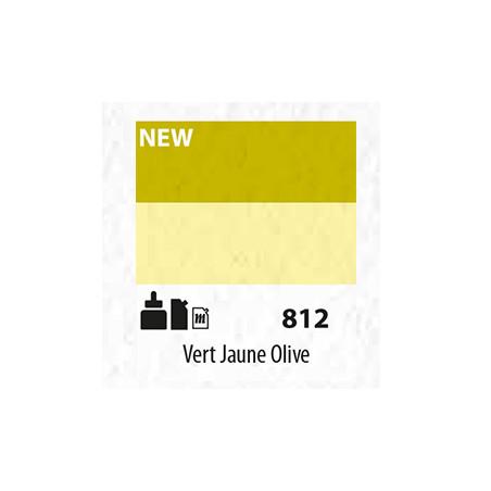 SENN ABSTRACT MAT 60ML VERT JAUNE OLIVE 812