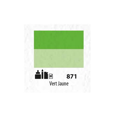 SENN ABSTRACT MAT 60ML VERT JAUNE 871