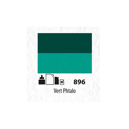 SENN ABSTRACT MAT 60ML VERT PHTALO 896