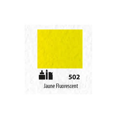 SENN ABSTRACT ENCRE ACRYLIQUE 30ML JAUNE FLUORESCENT  502