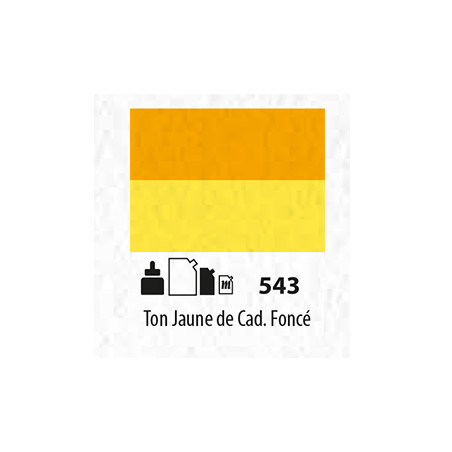 SENN ABSTRACT ENCRE ACRYLIQUE 30ML TON JAUNE CAD FCE 543