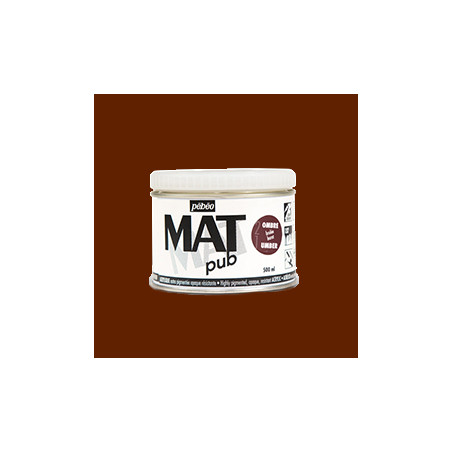 PEBEO ACRYL  MAT PUB  500ML  OMBRE BRULEE 022 S1