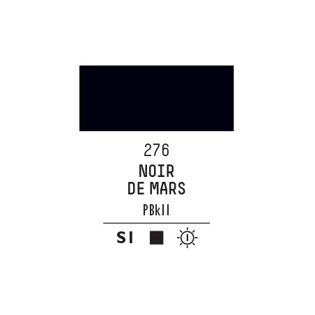 LQX PRO ACRYLIC GOUACHE MAT 59ML NOIR DE MARS 276 S1