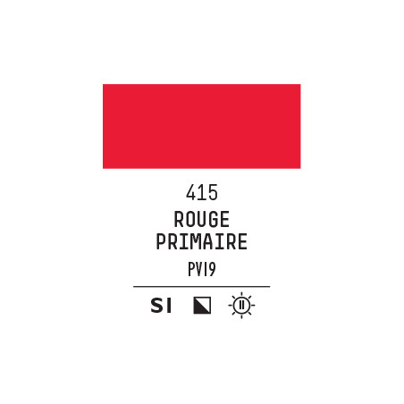 LQX PRO ACRYLIC GOUACHE MAT 59ML ROUGE PRIMAIRE 415 S1