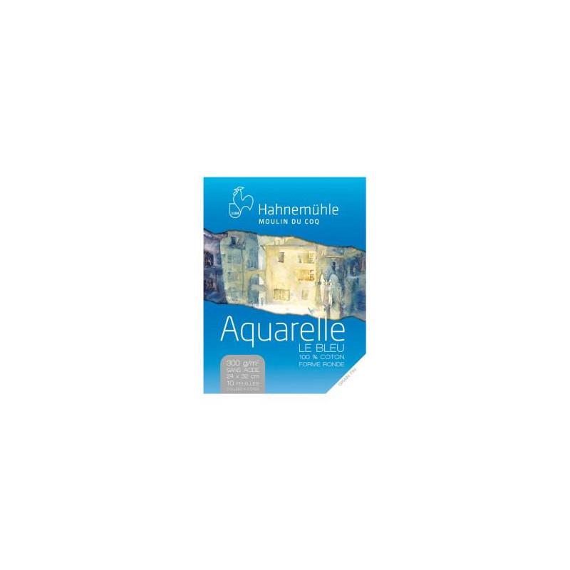 Bloc de papier aquarelle « le bleu »