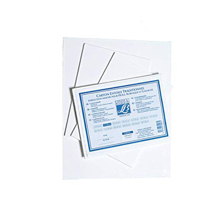 Carton entoilé en coton 12P – Lefranc & Bourgeois
