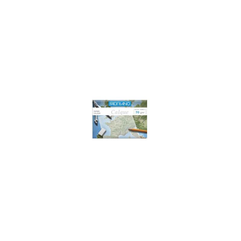 Pochette 12 feuilles papier calque transparent — Fabriano