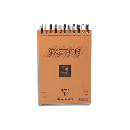Bloc croquis Sketch  90g - Clairefontaine