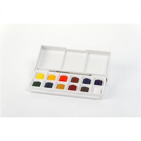 Boîte aquarelle Cotman avec pinceau Winsor & Newton