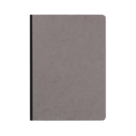 CARNET AGE BAG A5 192P DOT GRIS RENTREE 2019