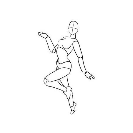 Mannequin articulée Miss Graph'it Body Kun