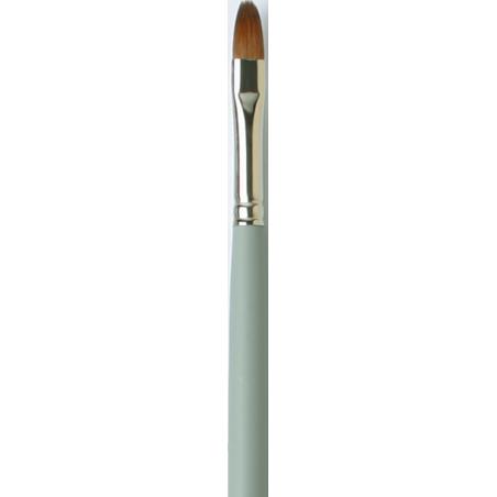 Pinceau martre rouge usé bombé série 1824 Da Vinci