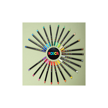 Crayon pastel Posca