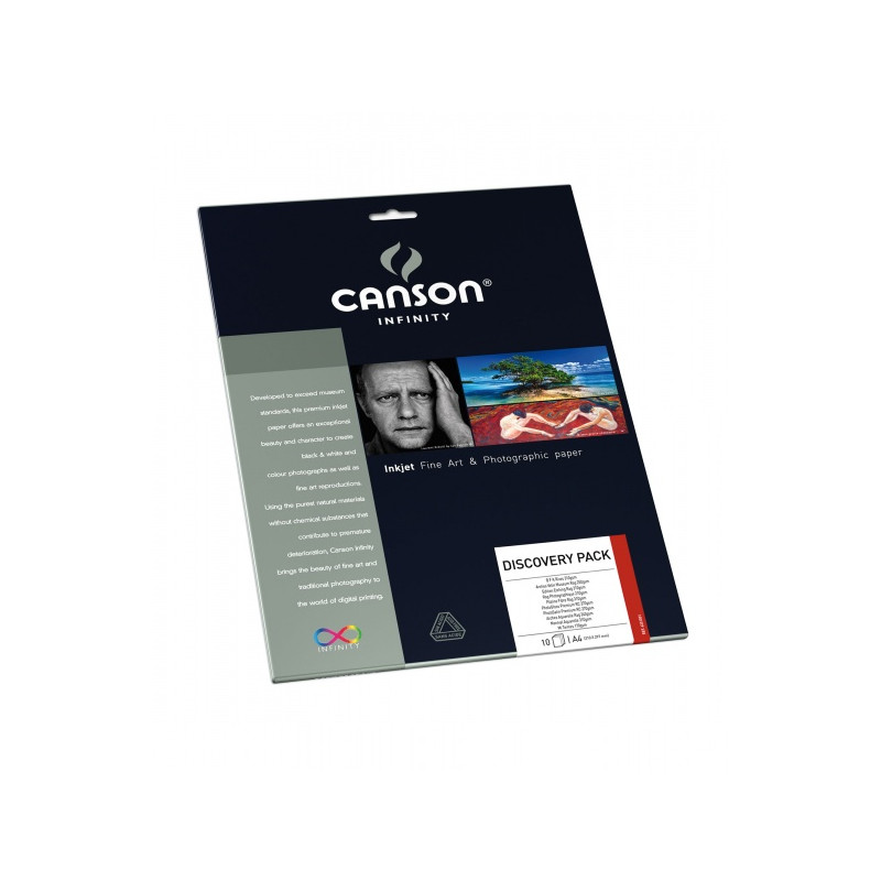 CANSON INFINITY PAPIER IMPR. EDITION ETCHING RAG 310GA4 25F/A EFFACER