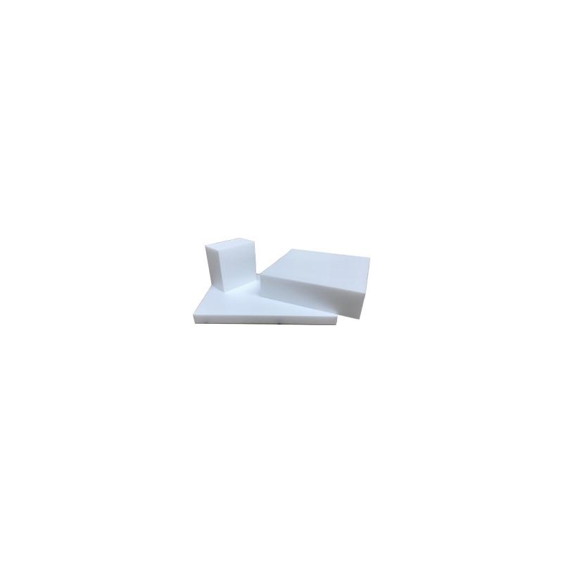 Bloc de polystyrène blanc à sculpter