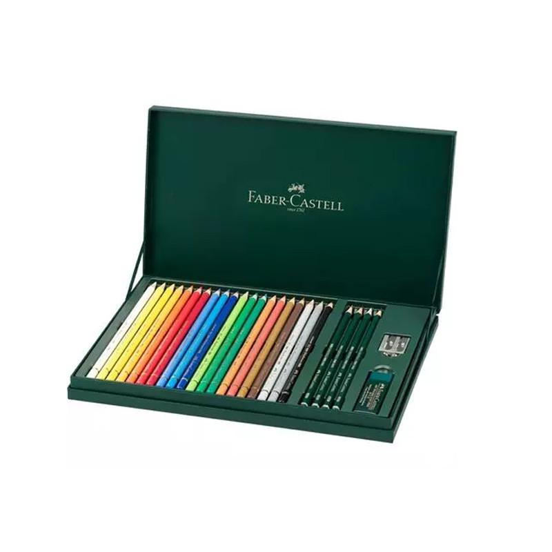 Coffret de crayons Polychromos mix Media - Faber-Castell