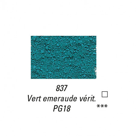 SENNELIER PIGMENT 80G S6 837 VERT EMERAUDE VERIT.