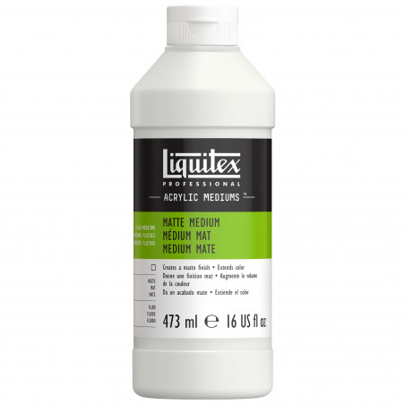 LIQUITEX 5116 MEDIUM MAT 473ML